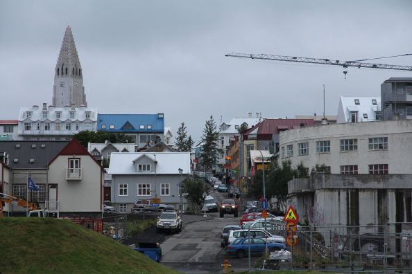 Reykjavik under construction