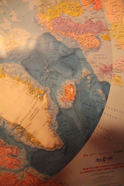 Iceland on the Polar Map